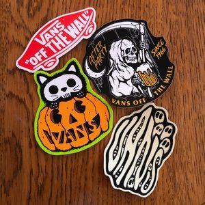 Vans Spooky Sticker Set